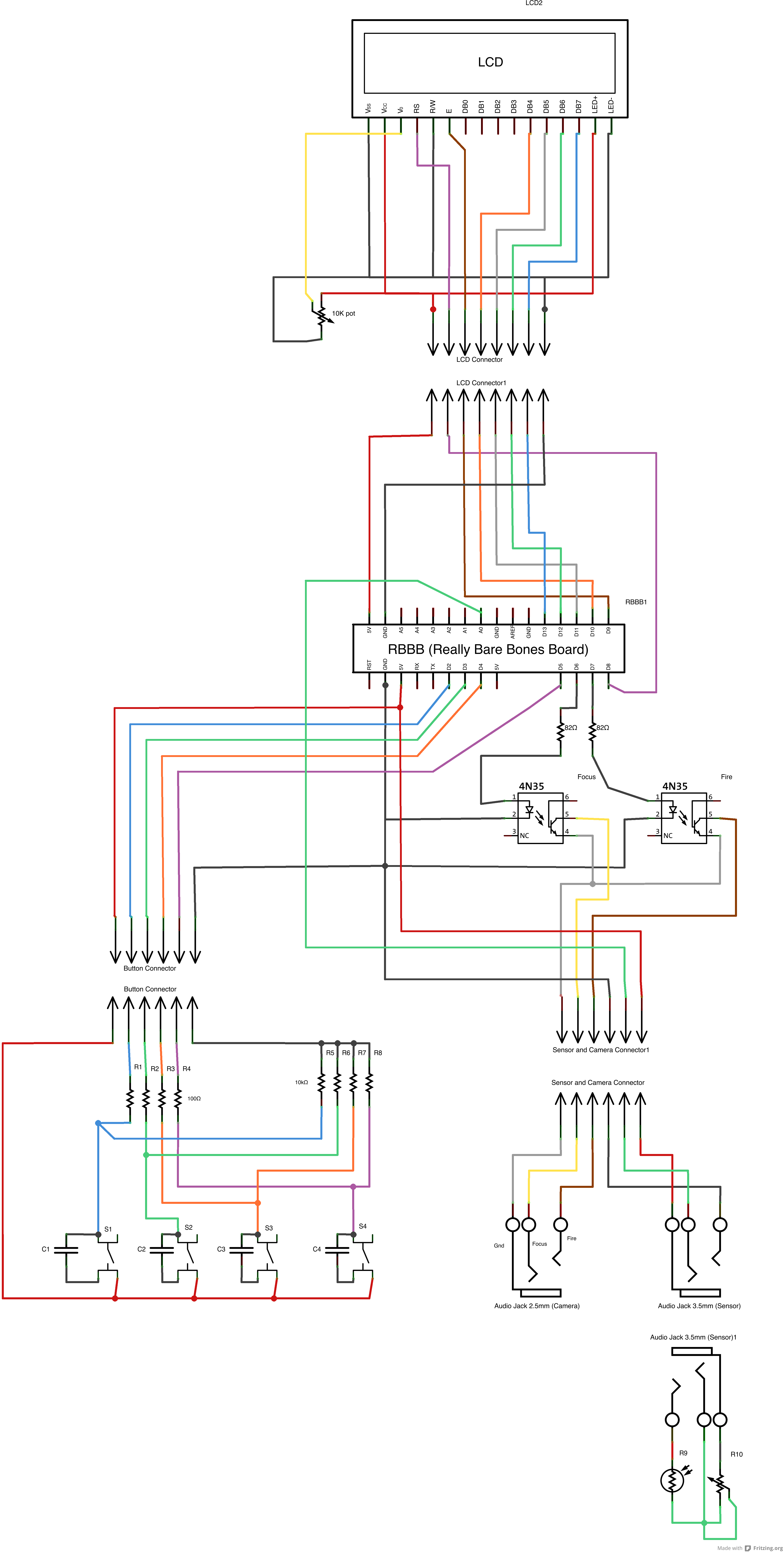 Camera Controller Schematic