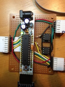 Main Board with the Arduino